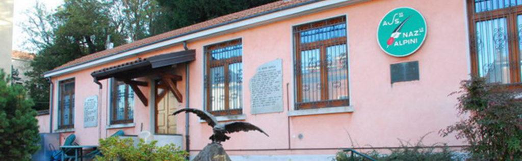 La sede A.N.A. della sezione di Varese