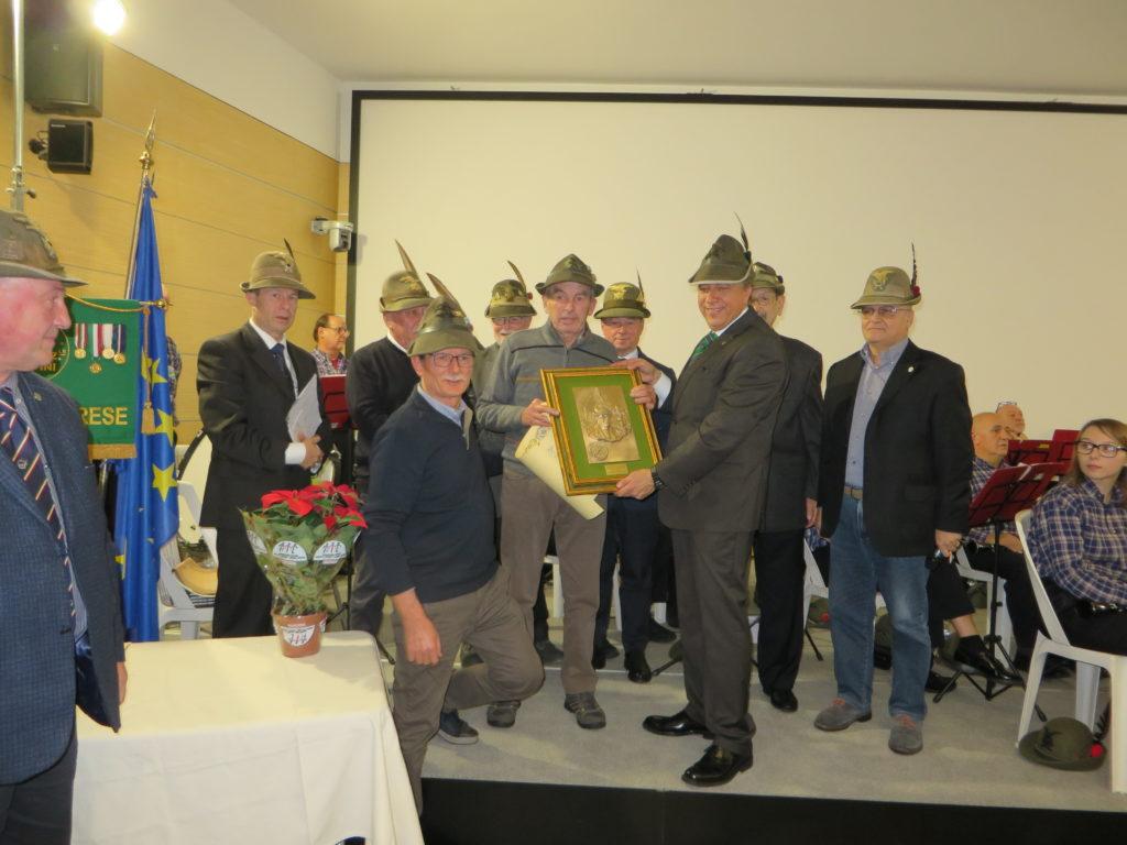Consegna premio Pa' Togn 2019